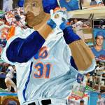 """Mike Piazza"" by riverratlee"