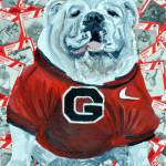 """UGA Bulldog II"" by riverratlee"