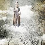 """Buddha in the clouds"" by amira"