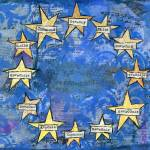 """Europen Union Flag of Harmony"" by schulmanart"