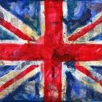 """UK flag Union Jack"" by schulmanart"