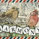 """Harmony Bird Art"" by schulmanart"