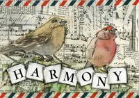 Harmony Bird Art