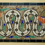 """Quetzalcoatl mosaic"" by jeffsartain"
