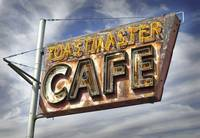 Toastmaster Cafe Neon Sign