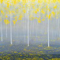 Yellow Forest Art Prints & Posters by Herb Dickinson