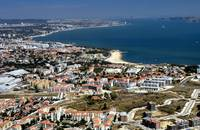 Oeiras, St.Amaro Beach and Lisbon Beyond