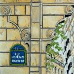 """""""rue des francsbourgeois"""" by FradetFineArt"""