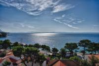 View from Brela, Croatia