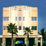 """Hotel and Umbrella, Miami Beach FL"" by joegemignani"
