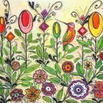 """""""garden1"""" by FradetFineArt"""