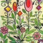 """gardenA"" by FradetFineArt"