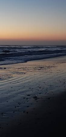 South Padre Island Beach at Dawn