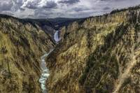 Artists Peak, Yellowstone Canyon