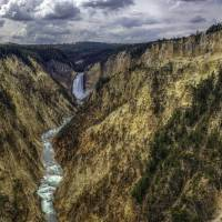 Artists Peak, Yellowstone Canyon Art Prints & Posters by Charlie McDougall