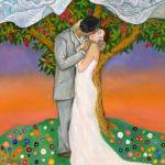 """Wedding Kiss - Alla Gerzon"" by artsalsa"