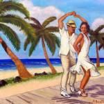 """""""Salsa en la Playa - Alla Gerzon"""" by artsalsa"""