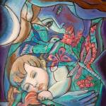 """Sweet Dreams, My Child - Alla Gerzon"" by artsalsa"