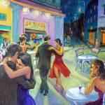 """""""Tango Cafe - Alla Gerzon"""" by artsalsa"""