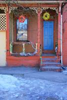 Row House with Wreaths - Trenton, New Jersey
