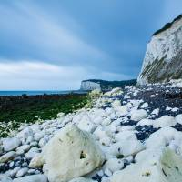 Morning at the White Cliffs of Dover Art Prints & Posters by Ian Middleton