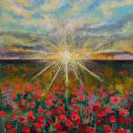 """""""Starlight Poppies"""" by creese"""