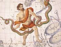 Constellation of Ophiucus and Serpens
