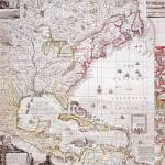 """A Map of the British Empire in America with the Fr"" by fineartmasters"