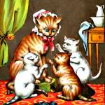 """Three little kittens"" by bandtdigitaldesigns"