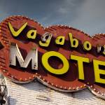 """Neon Sign Motel Vegabond"" by cr8tivguy"