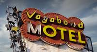 Neon Sign Motel Vegabond