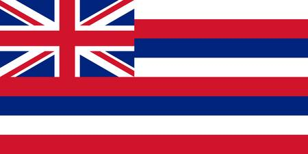 State Flag of Hawaii Authentic 1-2 version