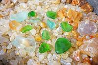Green Seaglass Coastal Beach Agates art prints