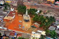 Indu Temple From Above
