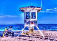 Life Guard Station HDR
