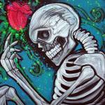 """Skeleton Rose"" by ArtPrints"