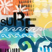Surf- Contemporary Abstract Painting Art Prints & Posters by Linda Woods