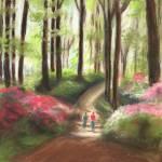 """""""Azalea Garden"""" by faythemills"""