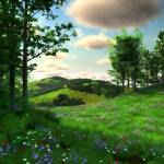"""SpringMeadow_24x30"" by graphixcat"