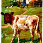"""The calf"" by bandtdigitaldesigns"