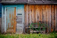 Old Barn And Bicycle