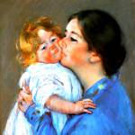 """""""A kiss for baby Anne"""" by bandtdigitaldesigns"""