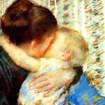 """""""Mother and child 1880"""" by bandtdigitaldesigns"""