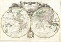 Vintage Map of The World (1775)