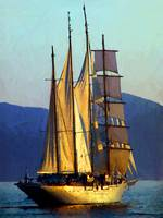 Sailing Ship Sea Cloud in Cannes