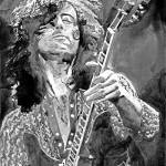 """JIMMY PAGE - LED ZEPPELIN"" by DavidLloydGlover"