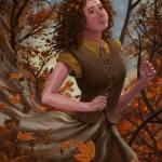 """Spirit of Autumn Woman"" by martindavey"
