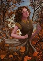 Spirit of Autumn Woman