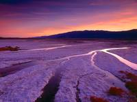 Salt Flats and Panamint Mountains, Death Valley, C