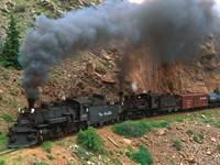 Cumbres and Toltec Steam Train, Colorado